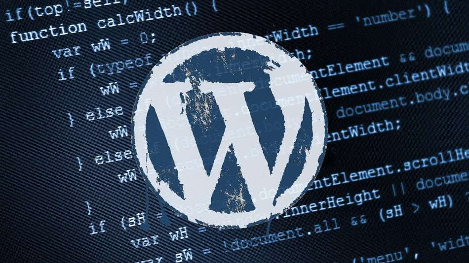 WordPress code logo