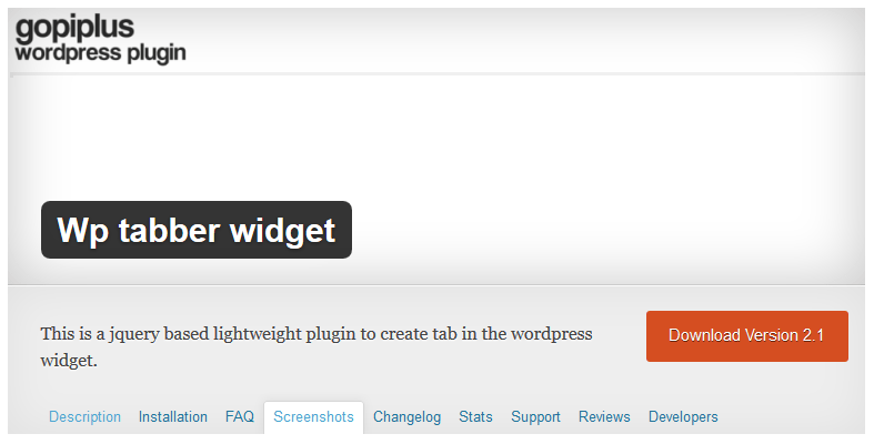Cà đặt plugin Wp tabber widget cho WordPress