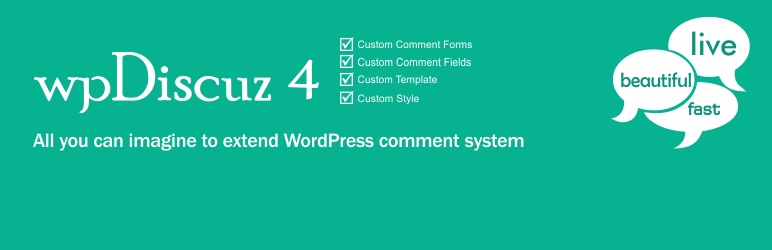 WordPress Comments Plugin – wpDiscuz